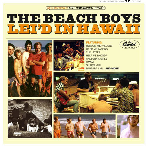 The Beach Boys-Lei'd In Hawaii