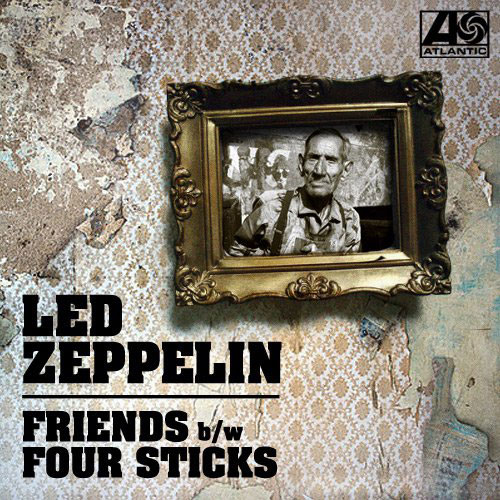 Led Zeppelin-Friends / Four Sticks (45 sleeve)