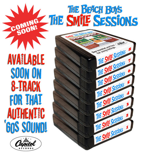 SMILE SESSIONS ON 8-TRACK