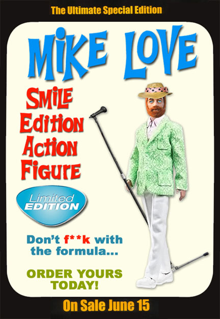 MIKE LOVE SMILE ACTION FIGURE