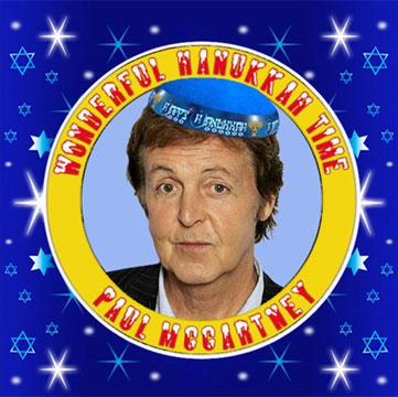 Paul McCartney's Hanukkah album - December 2011
